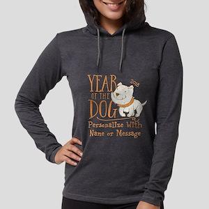 CUSTOM Cute Year Of The Dog Long Sleeve T-Shirt