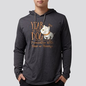 CUSTOM Cute Year Of The Dog Long Sleeve T-Shirt
