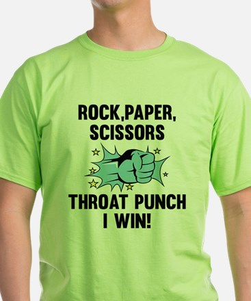 Throat Punch I Win T-Shirt