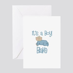 Blake's - It's a Boy Greeting Card