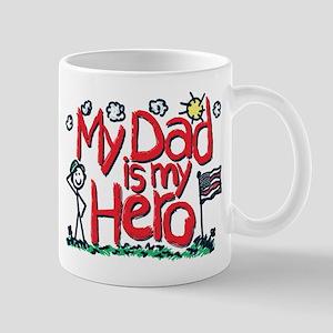 My Dad is my Hero 11 oz Ceramic Mug