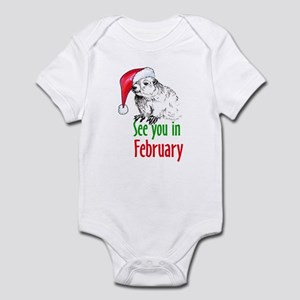 See you in February Infant Bodysuit