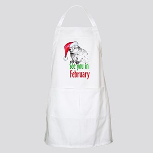See you in February BBQ Apron