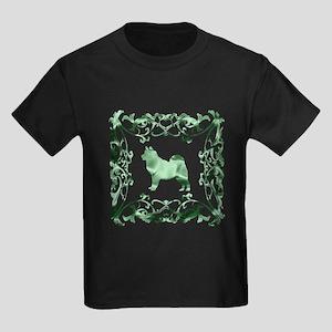 Alaskan Malamute Lattice Kids Dark T-Shirt