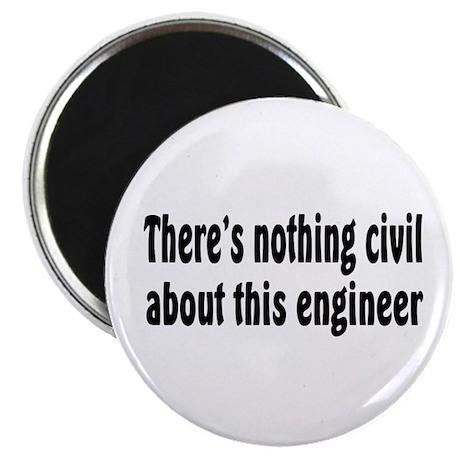 """Civil Engineer 2.25"""" Magnet (100 pack)"""
