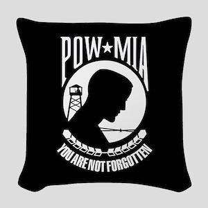 POW You Are Not Forgotten Woven Throw Pillow