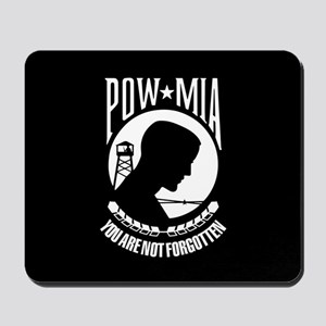 POW You Are Not Forgotten Mousepad