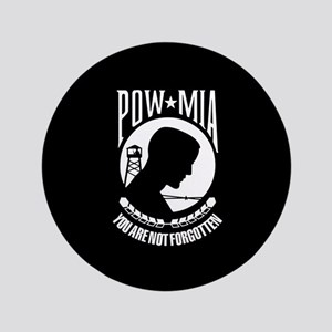 """POW You Are Not Forgotten 3.5"""" Button"""