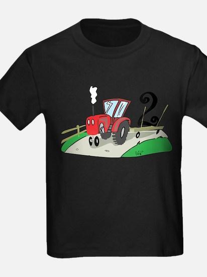 2nd Birthday Tractor T-Shirt