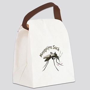 Mosquitos Suck Canvas Lunch Bag