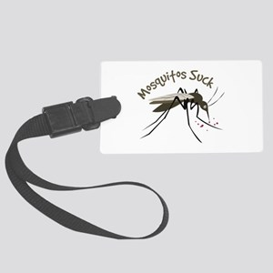 Mosquitos Suck Luggage Tag