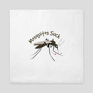 Mosquitos Suck Queen Duvet