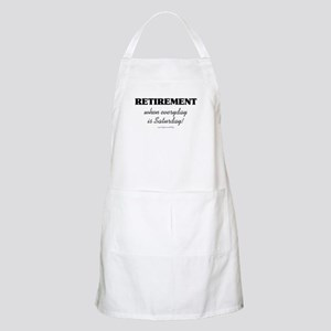 Retirement Weekend BBQ Apron