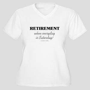 Retirement Weekend Women's Plus Size V-Neck T-Shir