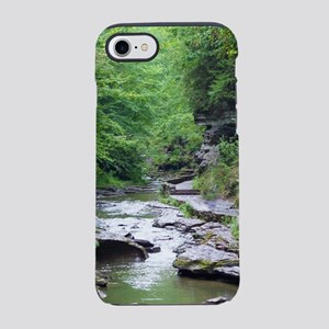 forest river scenery iPhone 8/7 Tough Case