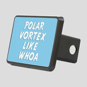 Polar Vortex Like Whoa Rectangular Hitch Cover