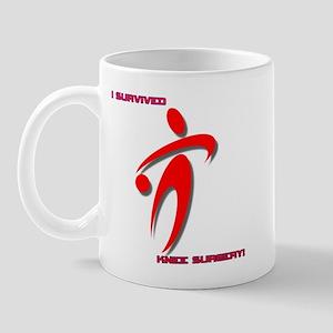 BBall Knee tr Mugs