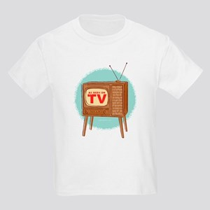 Vintage TV Kids Light T-Shirt