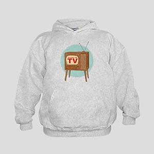 Vintage TV Kids Hoodie