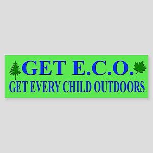 Get ECO Bumper Sticker