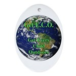 Get ECO Oval Ornament