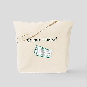 Gun Show Tickets Tote Bag