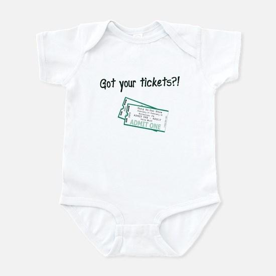 Gun Show Tickets Infant Bodysuit