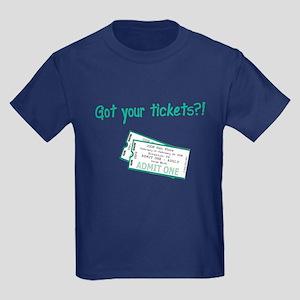 Gun Show Tickets Kids Dark T-Shirt
