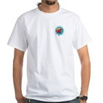 Peace Under the Sea White T-Shirt