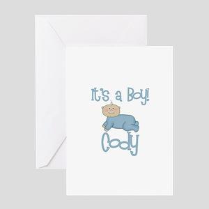 Cody - It's a Boy Greeting Card