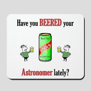 Astronomer Mousepad