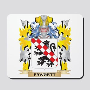 Fawcett Coat of Arms - Family Crest Mousepad