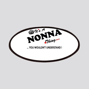 NONNA thing, you wouldn't understand Patch