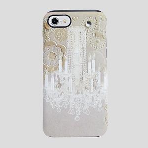 elegant chandelier floral pa iPhone 8/7 Tough Case