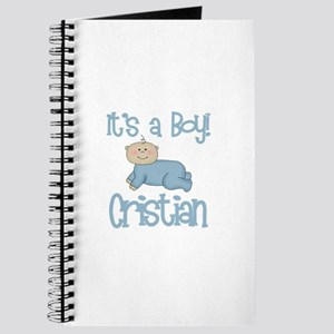 Cristian - It's a Boy Journal