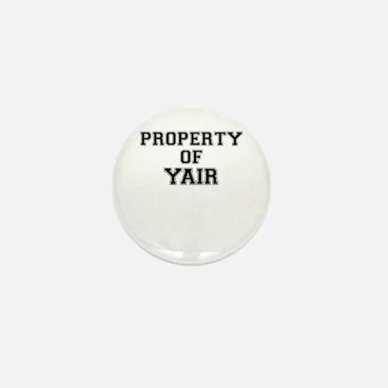 Property of YAIR Mini Button