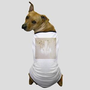 elegant chandelier floral paris Dog T-Shirt