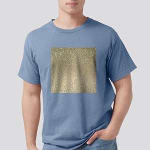art deco gold glitter T-Shirt