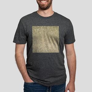 art deco gold glitter T-Shirt