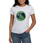 Earth Peace Symbol Women's T-Shirt