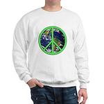 Earth Peace Symbol Sweatshirt