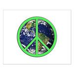 Earth Peace Symbol Small Poster