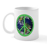 Earth Peace Symbol Mug