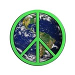 Earth Peace Symbol 3.5