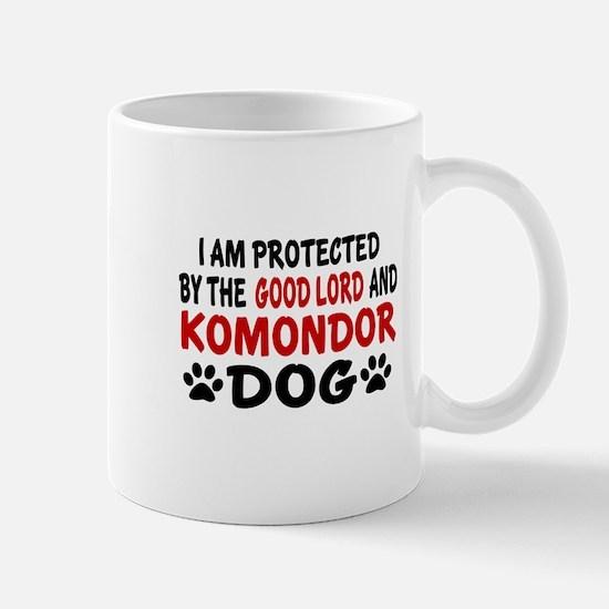 Protected By Komondor Mug