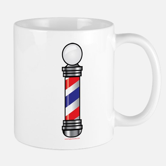 Barber Pole Mug