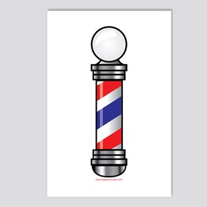 Barber Pole Postcards (Package of 8)