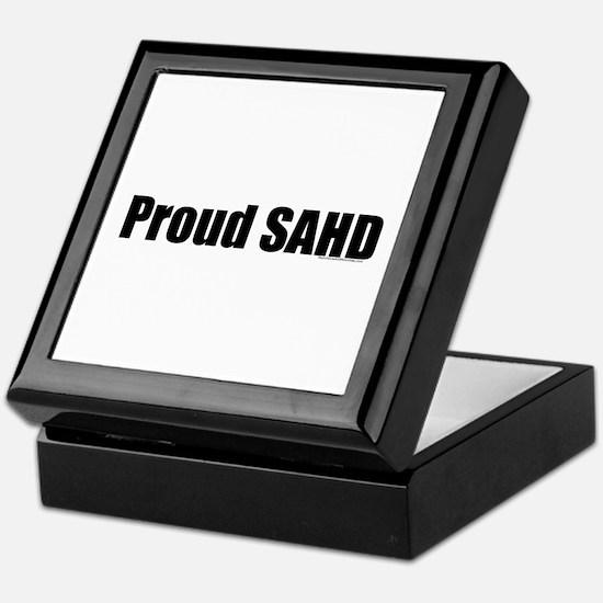 Proud SAHD Keepsake Box
