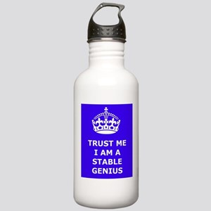 Stable Genius Blue Stainless Water Bottle 1.0L