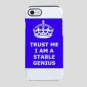 Stable Genius Blue iPhone 8/7 Tough Case